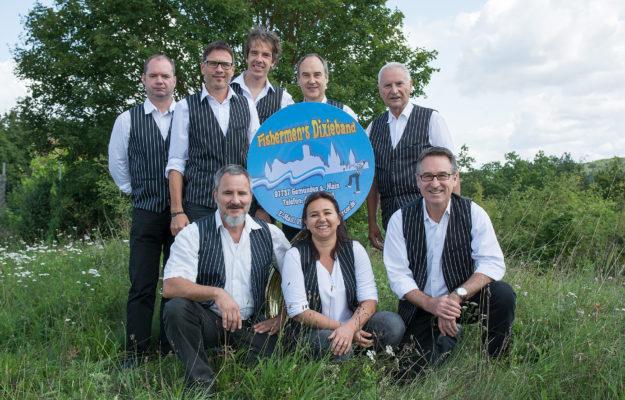 Fishermen's-Dixieband beim Schoppen-Franz