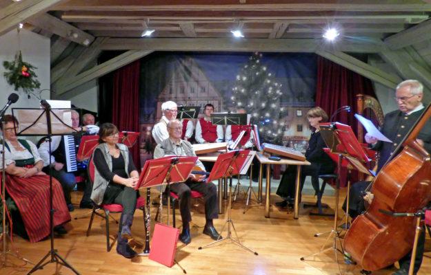 Weihnachtskonzert Saitenmusik 2015