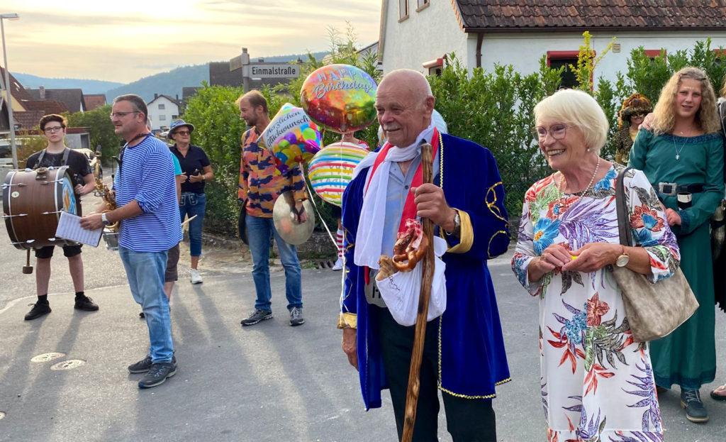 80. Geburtstag Gerd Pröschl am 07.09.2021 Foto: Barbara Thiel